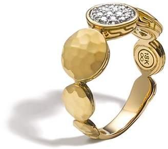 John Hardy Palu 18K Gold Diamond Pavé Ring, .10 ct. t.w.