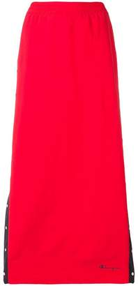Champion side stripe long skirt