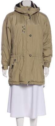 Obermeyer Embroidered Down Coat