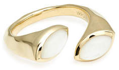 Ippolita 18k Prisma Bypass Ring, Mother-of-Pearl