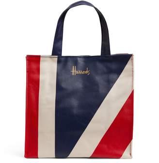 Harrods Small Union Jack Shopper Bag