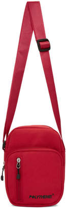 Polythene* Optics Red Shoulder Bag