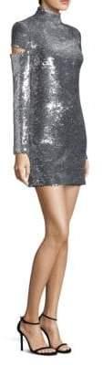 Helmut Lang Sequin Disco Mini Dress