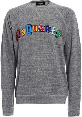 DSQUARED2 Embroidered Logo Sweatshirt