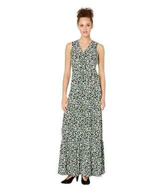 MICHAEL Michael Kors Multi Flutter Chain Maxi Dress