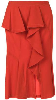 Givenchy asymmetric draped panel skirt