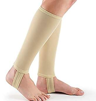 Beauty America Men's Compression Stirrup Socks Open Heel Toe Knee High For Pain Relief