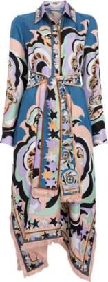Emilio Pucci Edie Print Asymmetrical Dress