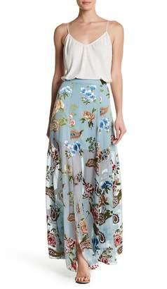 Alice + Olivia Athena Floral Maxi Skirt