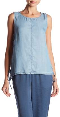 Vince Camuto Side Lace-Up Tank Top