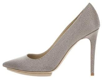 Stella McCartney Satin Glitter Pumps