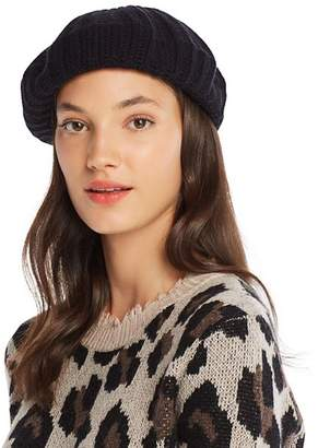 Bloomingdale's C by Rib-Knit Cashmere Beret - 100% Exclusive