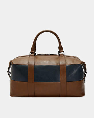 Ted Baker ELTON Striped leather holdall