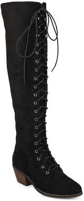 Journee Collection Bazel Over The Knee Combat Boot - Women's