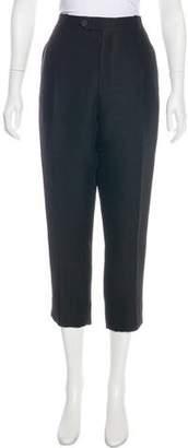 Christian Dior Wool-Blend High-Rise Pants