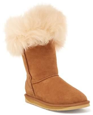 Australia Luxe Collective Foxy Short Genuine Fox Fur Boot