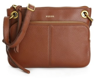 Fossil Karli Leather Crossbody Bag