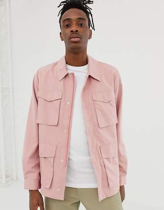 Asos DESIGN lightweight utility jacket