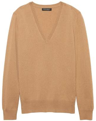 Banana Republic Cashmere V-Neck Sweater