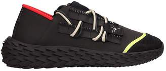 Giuseppe Zanotti Black Rubber Urchin Sneakers