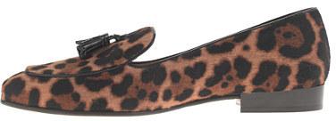 J.Crew Collection Biella calf hair tassel loafers