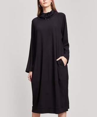 Oska Drawstring Jersey Dress