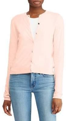 Lauren Ralph Lauren Logo-Button Slim-Fit Cardigan