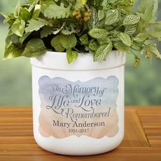 Bed Bath & Beyond In Memory Outdoor Flower Pot