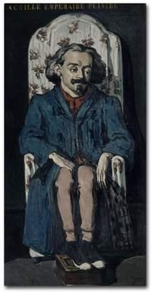 Cezanne Trademark Fine Art Achille Emperaire by Cezanne, Canvas Wall Art