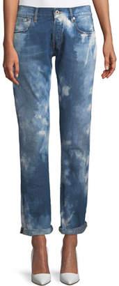 Ralph Lauren Mid-Rise Straight-Leg Coastal Denim Jeans