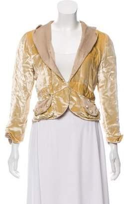 Marc Jacobs Velvet Shawl Collar Jacket