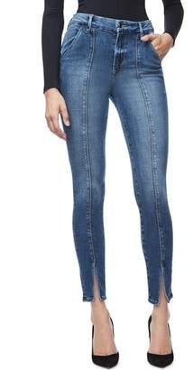 Good American Good Waist Trouser Pocket High Waist Skinny Jeans