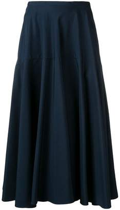 Aspesi high-rise flared skirt