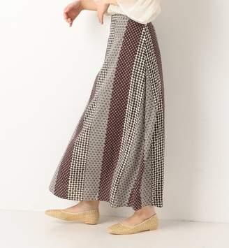Archives (アルシーヴ) - アルシーヴ マルチ小紋柄ロングスカート