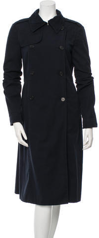 Miu Miu Miu Miu Double-Breasted Trench Coat