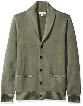 5151d28137d Goodthreads Men s Soft Cotton Shawl Cardigan Sweater