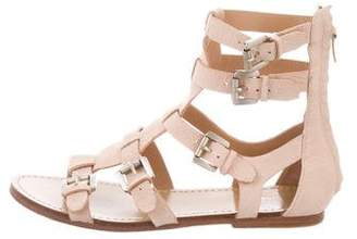 Sigerson Morrison Leather Gladiator Sandals