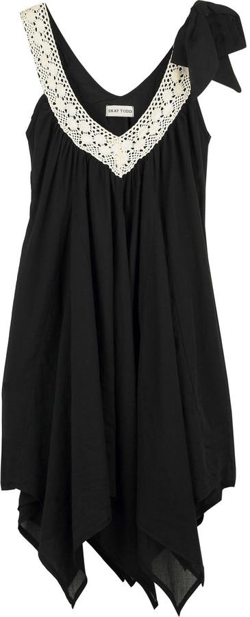 Shay Todd Cotton blend dress