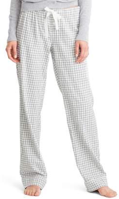 J.Crew Grey Gingham Pajama Pants