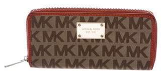 MICHAEL Michael Kors Monogram Canvas Wallet