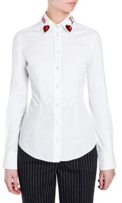 Dolce & Gabbana L'Amore e Bellezza Collar Shirt