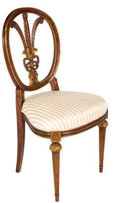 Italian Upholstered Side Chair