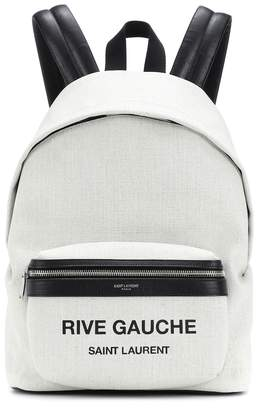 Saint Laurent City Mini Rive Gauche backpack
