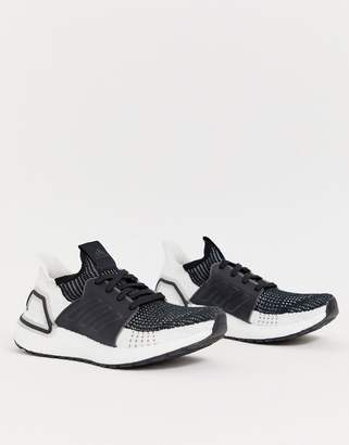 adidas Ultraboost 19 In Black And White