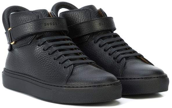 Buscemi Kids touch strap sneakers