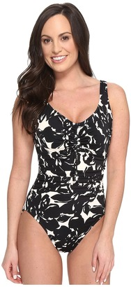 Magicsuit - Magnolia Blossom Yasmin Tummy Control One-Piece Swimsuit Women's Swimsuits One Piece $158 thestylecure.com