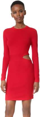 Elizabeth and James Railey Long Sleeve Dress with Side Cutout Detail $385 thestylecure.com