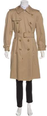 Burberry Vintage Double-Breasted Twill Trench Coat