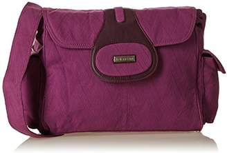 Kalencom Fashion Diaper Bag, Changing Bag, Nappy Bag, Mommy Bag (Elite Pizzazz Plum)