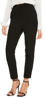 Women's Missguided High Waist Cigarette Trousers $72 thestylecure.com